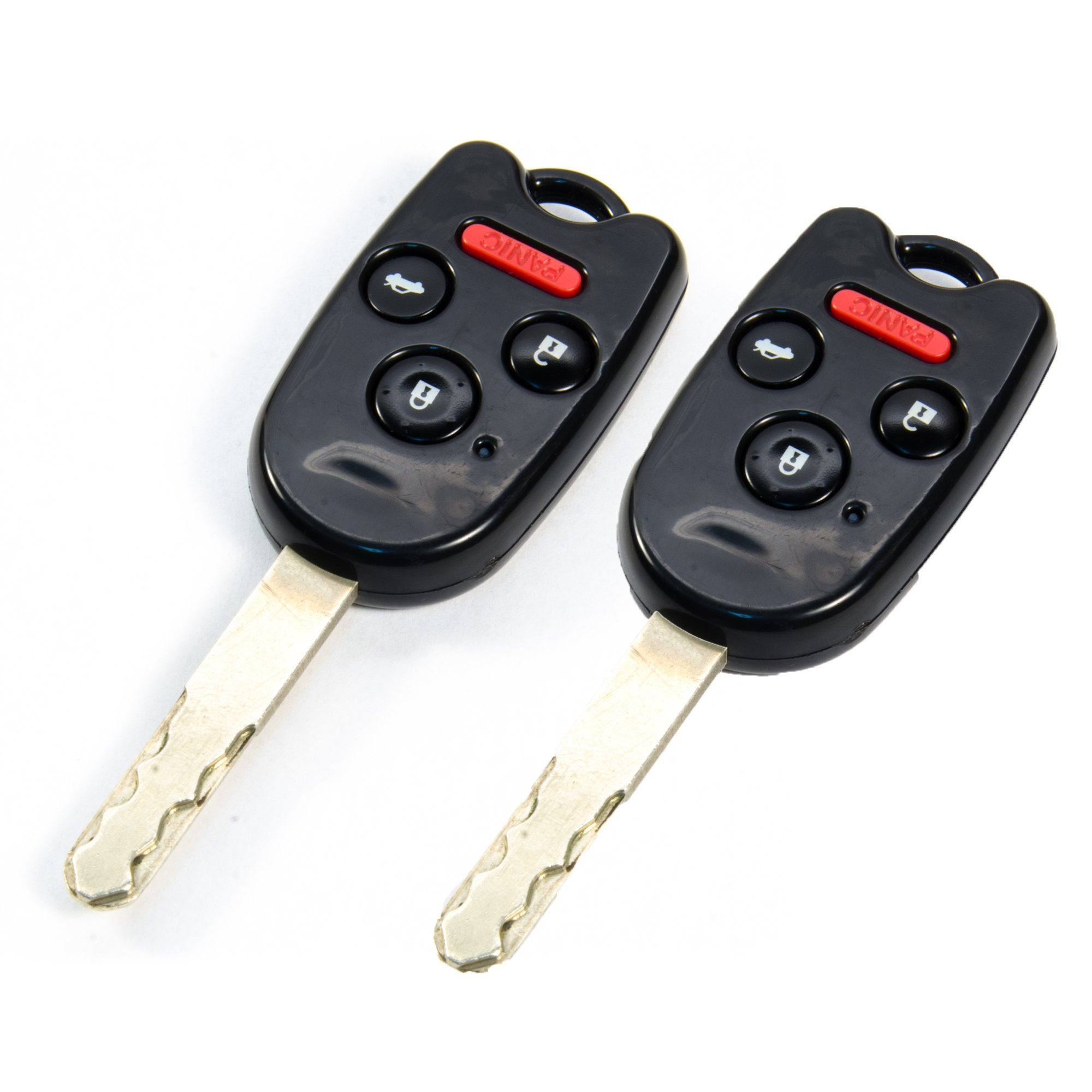 Ridgeline Civic N5F-S0084A STAUBER Best Key Shell Replacement for Honda Accord KR55WK49308 NO Locksmith Required Using Your Old Key and chip! N5F-A05TAA and CR-V Green