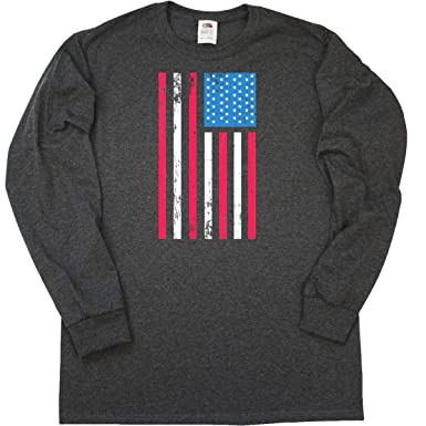 e669653ef Amazon.com: inktastic - Memorial Day or 4th of July Grunge Long Sleeve T- Shirt 29cc4: Clothing
