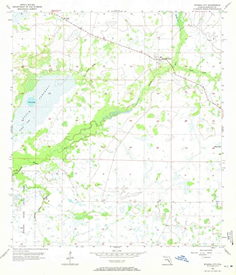 Myakka City Florida Map.Amazon Com Yellowmaps Myakka City Fl Topo Map 1 24000 Scale 7 5
