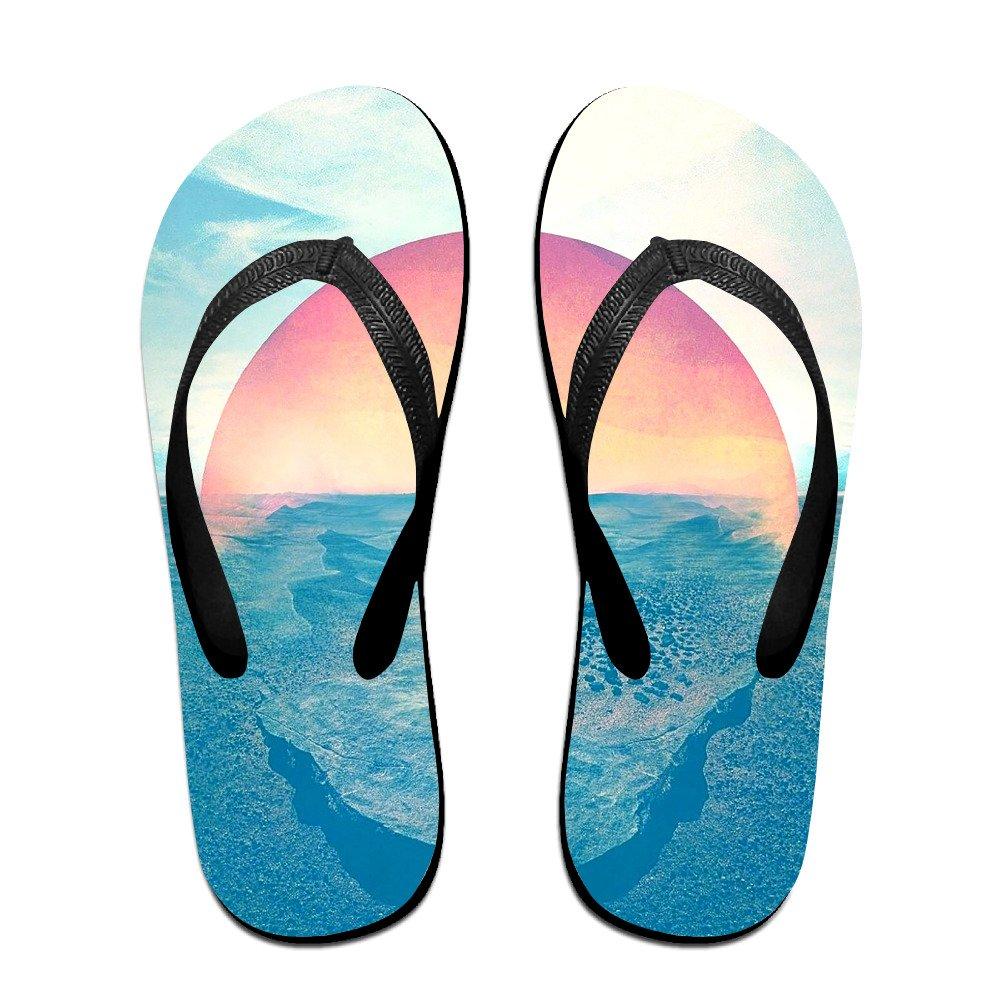JESUS SAUCEDO Sun in The Ocean Breathable V Flip Flops Beach Slippers Chinela Baboosh Babouche Sandals