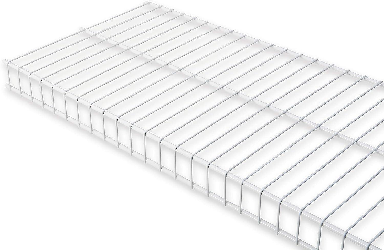 Rubbermaid Wire Shelving Linen, 2 by 12-Inch, Metal