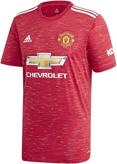 Amazon Com Manchester United Home Shirt 2020 21 L Green Clothing