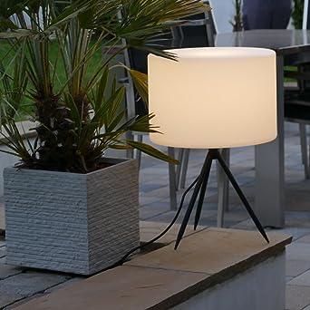 Jardín Jardín Lámpara de jardín Iluminación exterior – Lámpara Tripod 55 x 40 cm: Amazon.es: Iluminación