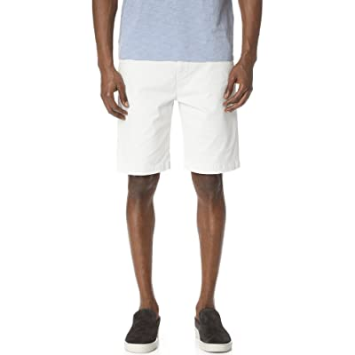 7 For All Mankind Men's The Luxe Performance Sateen Chino Short: Clothing