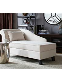Storage Chaise Lounge Chair  This Microfiber Upholstered Lounger Is Perfect  For Your Home Or Office Part 30