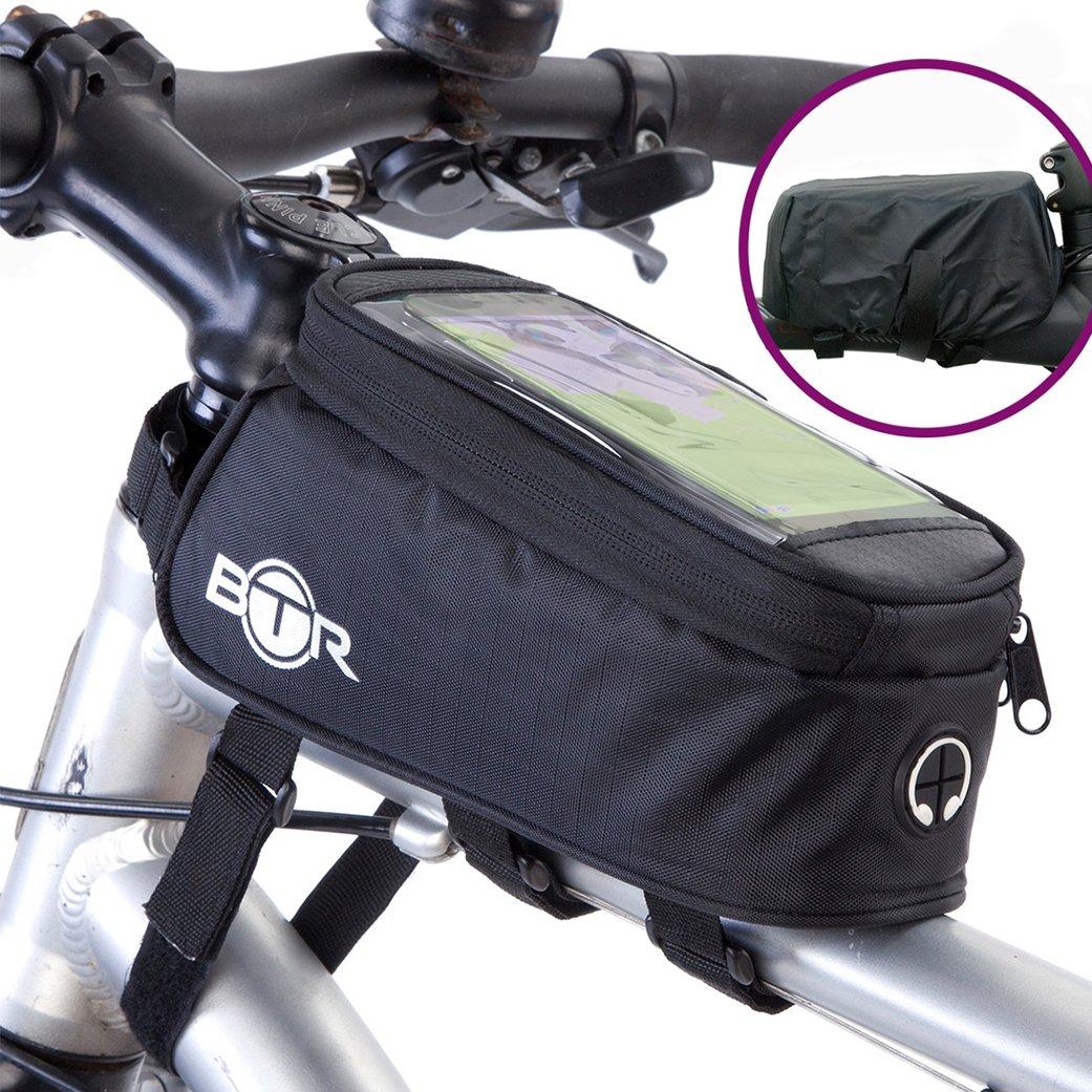 BTR Fahrrad-Rahmentasche / lenkertasche und Handy-Tasche GEN3 ...