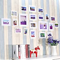 Large Multi Picture Photo Frames Wall Set 20 Pieces Set,Wedding Photo Frame Wall