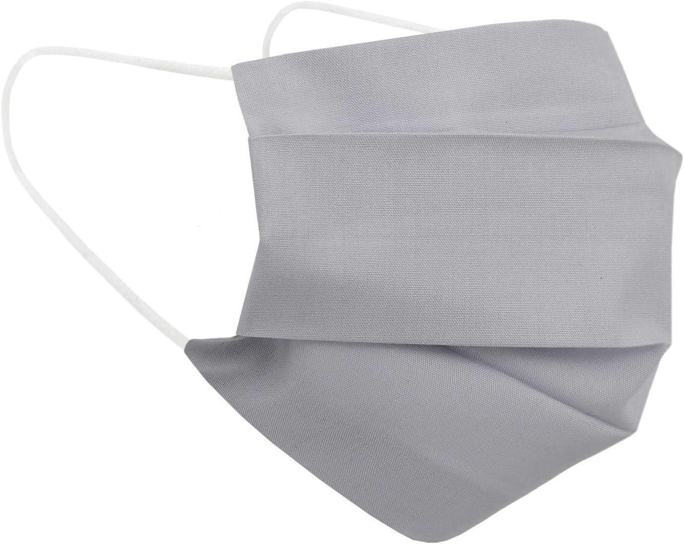 H/ände-Hygienet/ücher gratis 10er-Pack Mundschutz waschbar aus 100/% Bio-Baumwolle Oeko-TEX 100 Standard nachhaltig Earloop-Design 10 St Wiederverwendbare Behelfs-Abdeckung f/ür Mund Nase in wei/ß