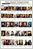 Educational - Bildung - Poster - Great Composers Komponisten + Ü-Poster
