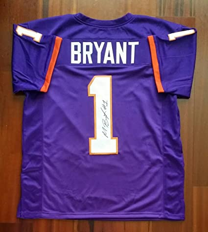 71a4b9a57 Martavis Bryant Autographed Signed Jersey Clemson Tigers Steelers ...