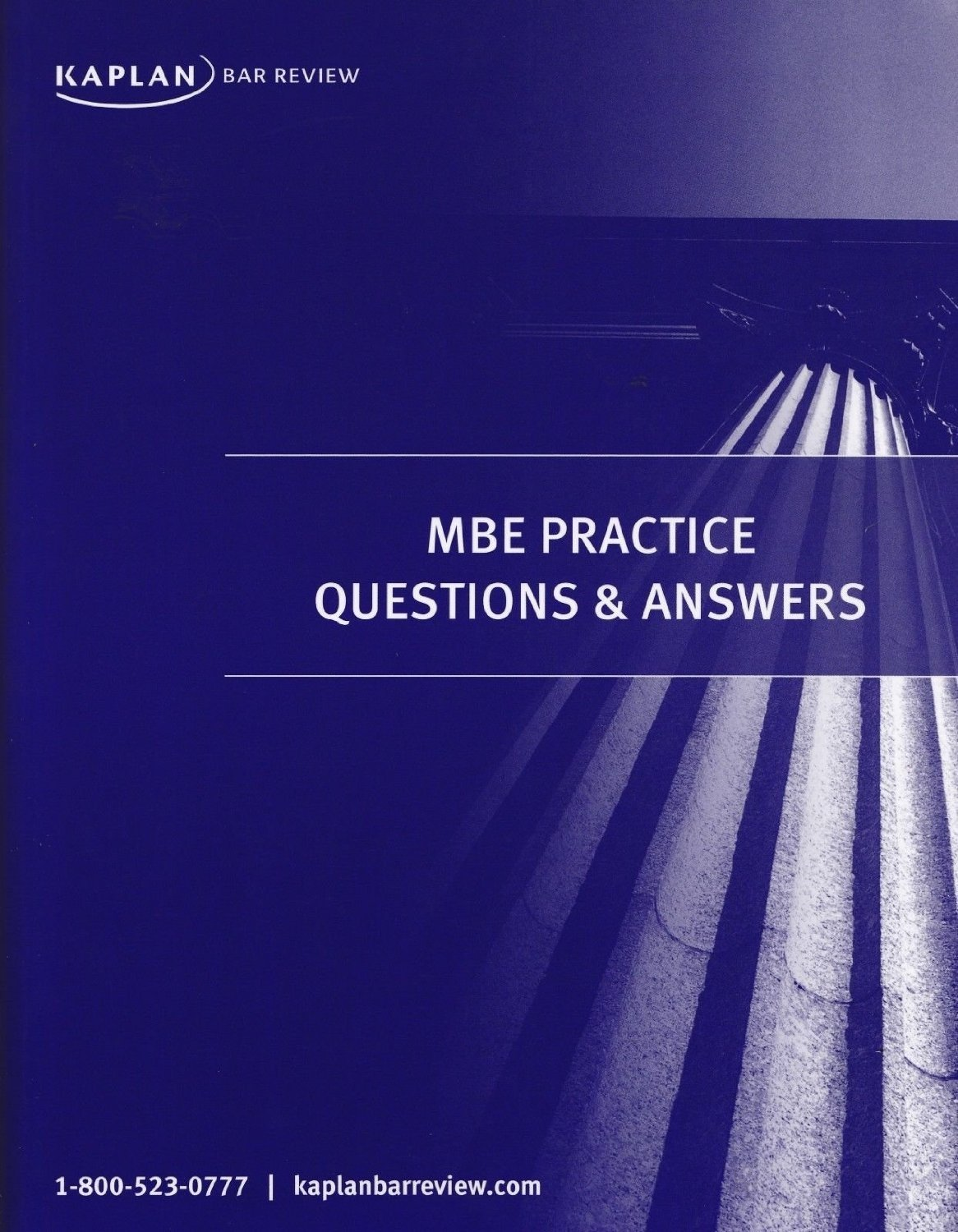 MBE Practice Questions & Answers: Kaplan: Amazon com: Books