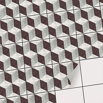 Mosaikfliesen Fur Boden Fliesen Sticker Aufkleber Folie Fur
