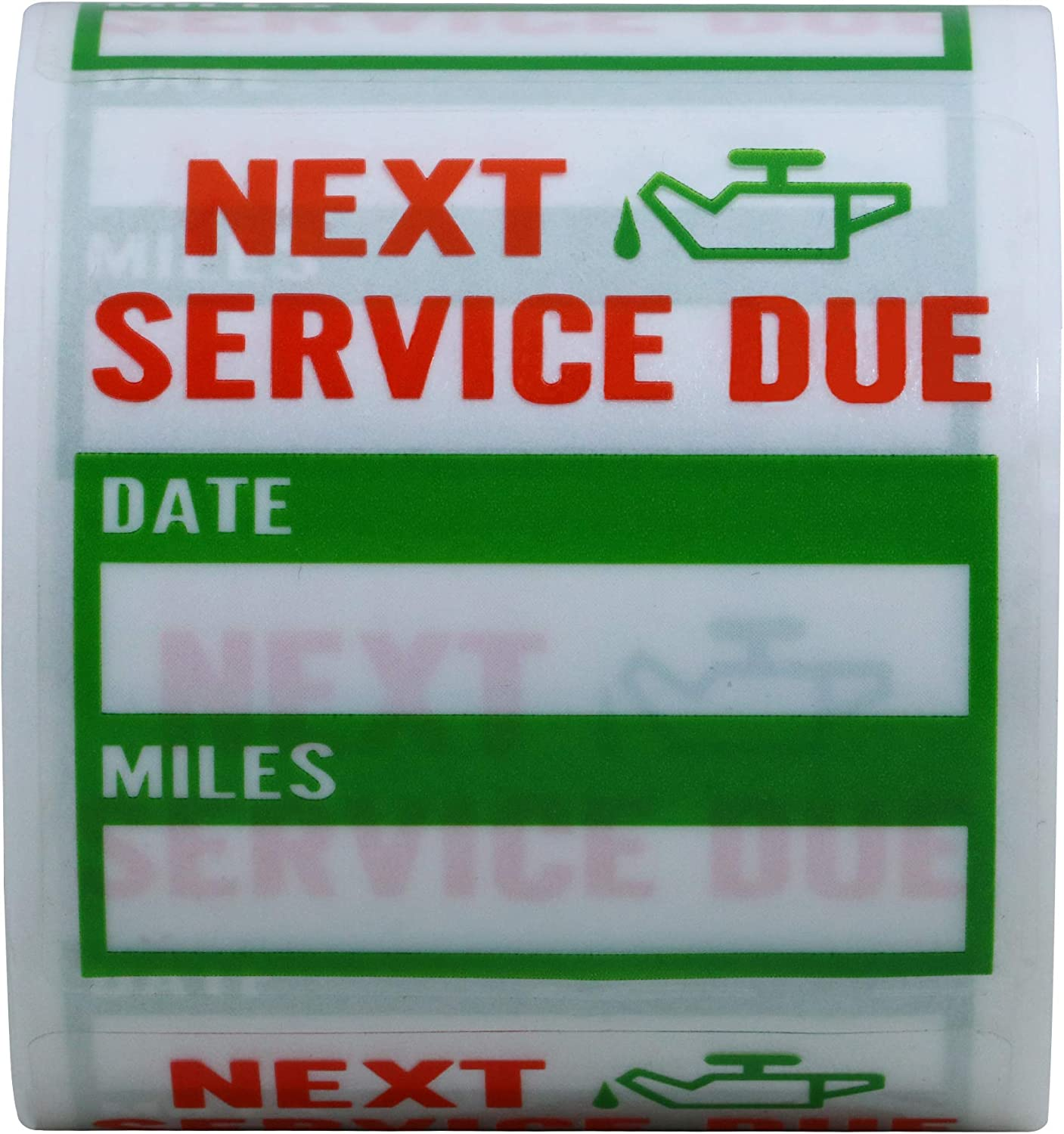 200 Oil Change//Service Reminder Stickers
