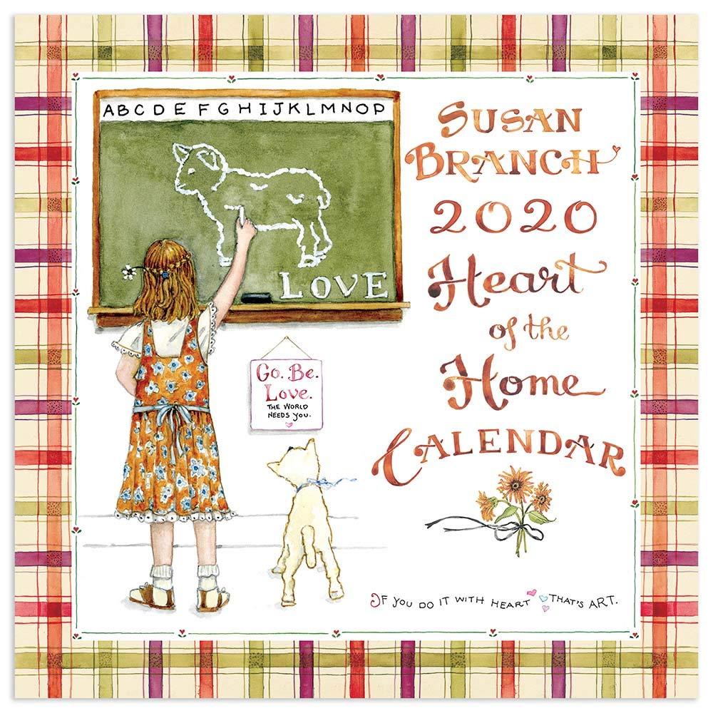 Susan Branch Calendar 2020 2020 Susan Branch Heart of the Home Wall Calendar: TF Publishing