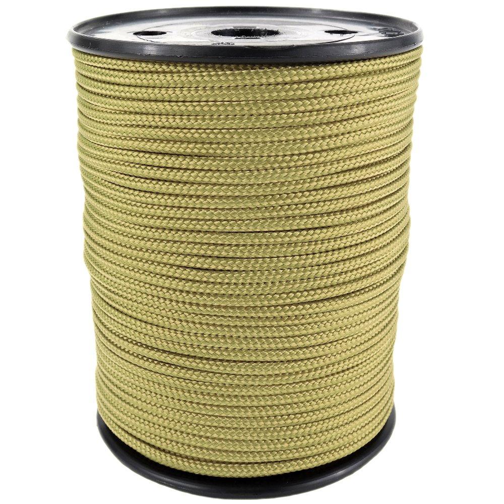 PP Seil Polypropylenseil SH 10mm 100m Farbe Gold (1345) Geflochten