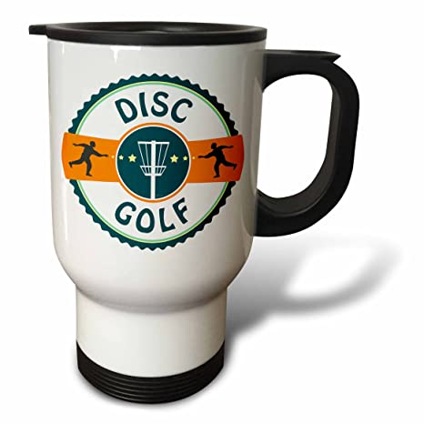 Amazon Com 3drose Tm 174727 1 Disc Golf Silhouette Of Putters
