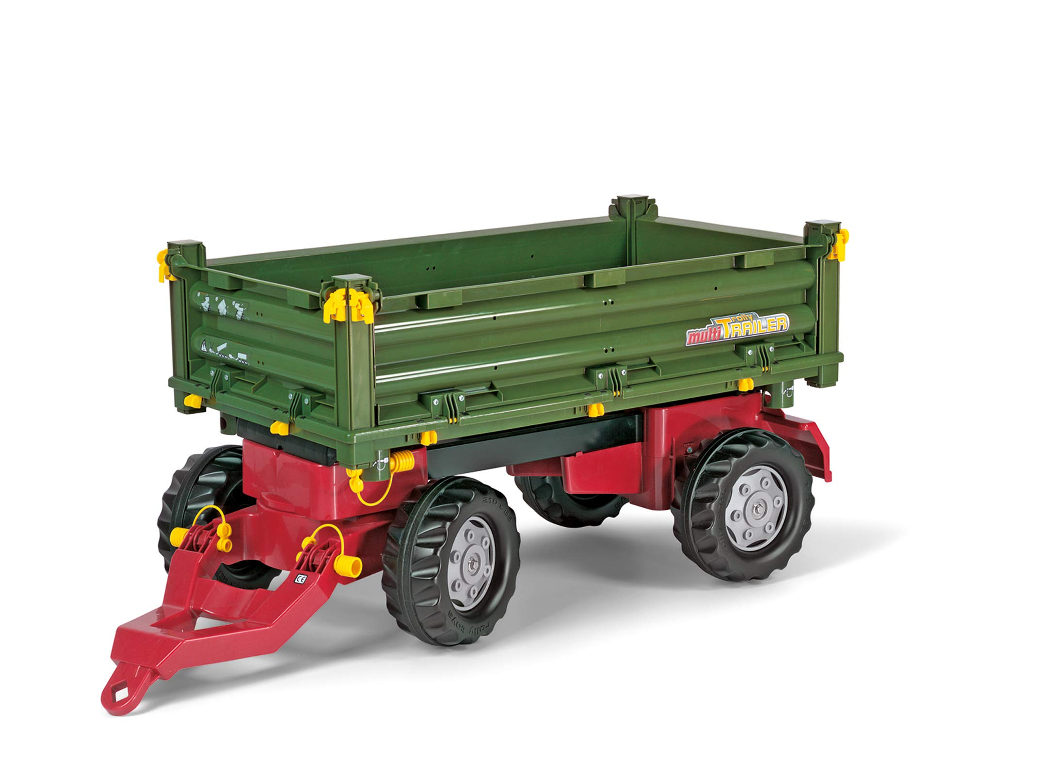 rolly toys Multi Double Axel Trailer, Green