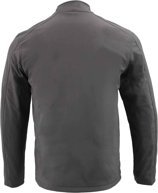 X-Small Milwaukee Performance MPM1763 Mens Grey Waterproof Lightweight Soft Shell Jacket