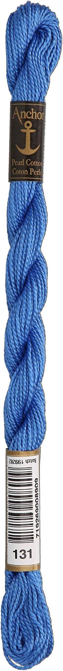 5 g Hellblau St/ärke 5 Anchor Perlgarn Farbe 130