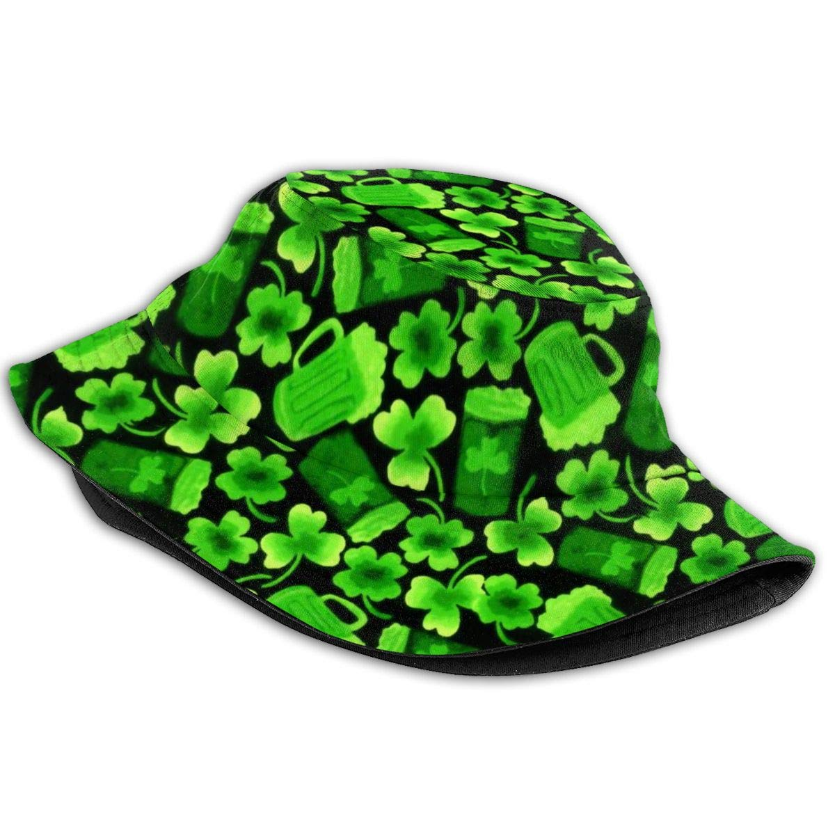 Cool Trucker Mesh Cap for Unisex Mens and Womens 100/% Polyester Luc ST Patrick Shamrock Beer Baseball Cap
