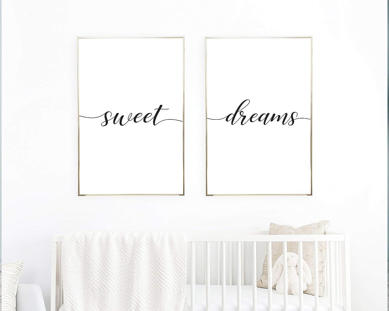 Amazon.com: TimPrint Sweet Dreams Wall Art Sweet Dreams ...