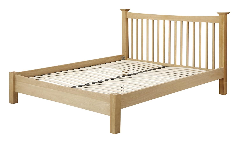 100% authentic 3d87d e5f04 Birlea Kimberley Small Double Bed, Oak: Amazon.co.uk ...