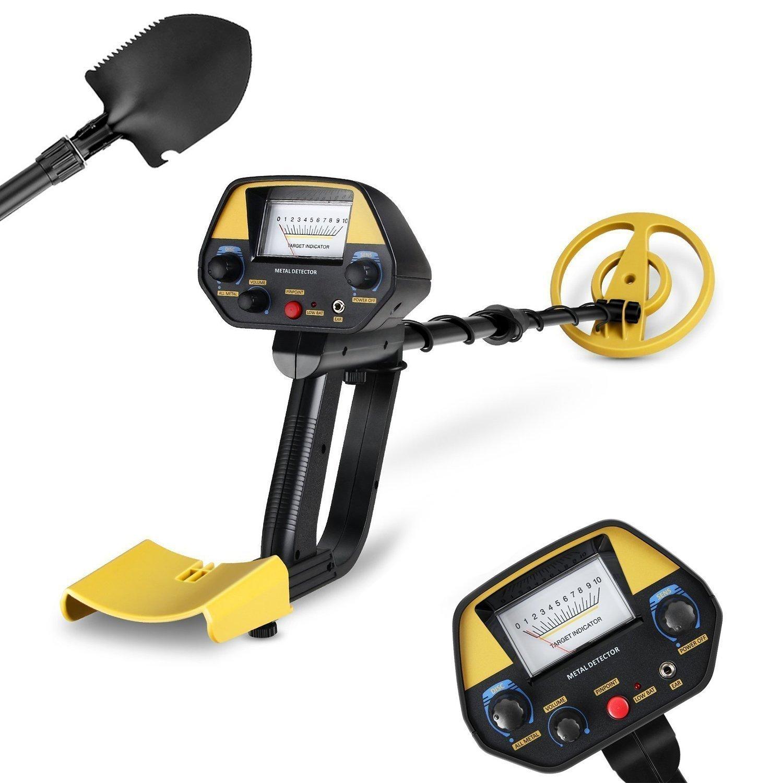 INTEY - Detector De Metales Extraíbles Negro Con Pala Plegable y Mochila product image