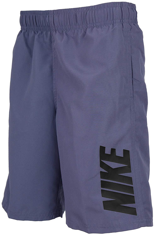 Nike Swim Boys 8 Volley Short - Lt Carbon (Medium)