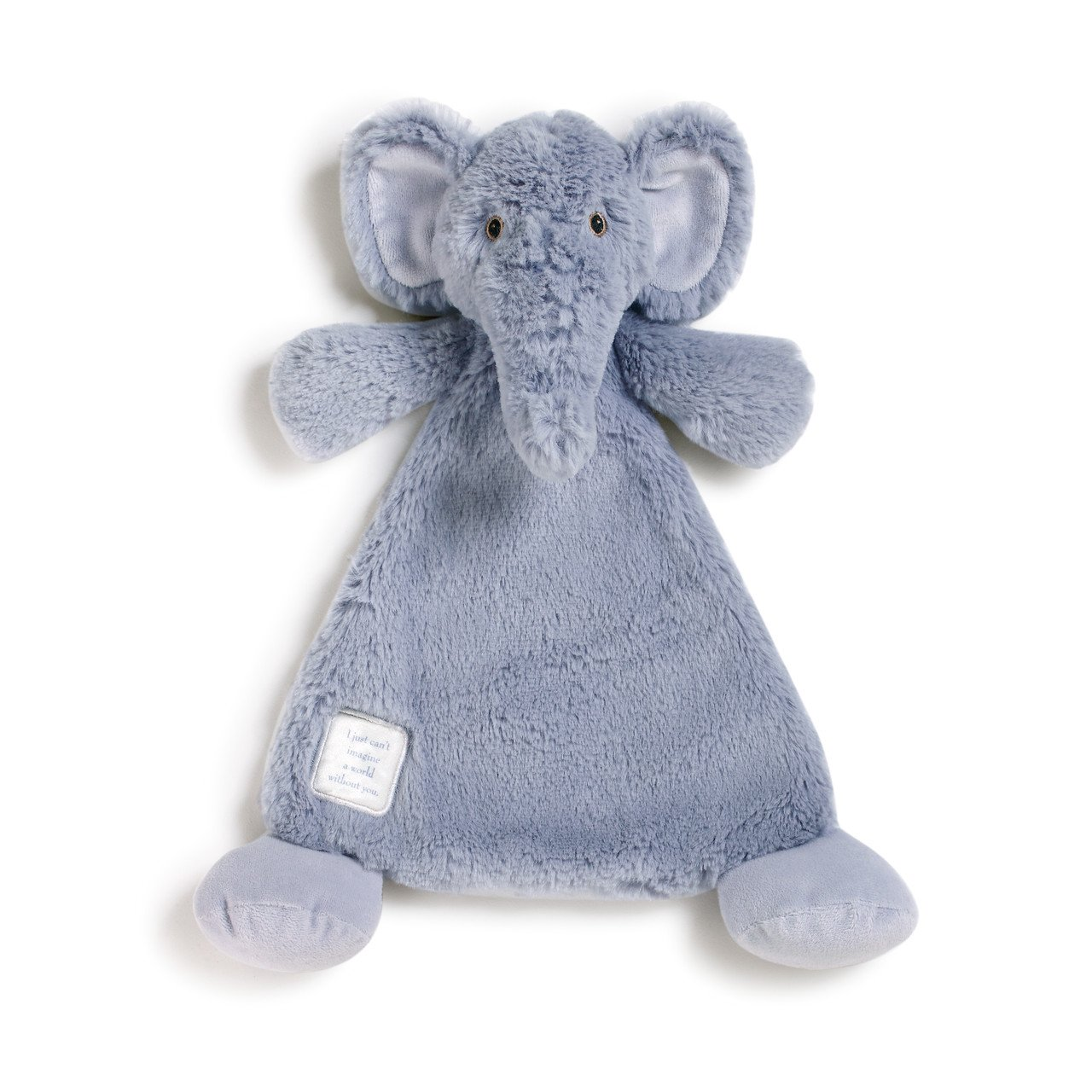Elephant Blankie 12 inch - Baby Stuffed Animal by Nat and Jules (5004700565)