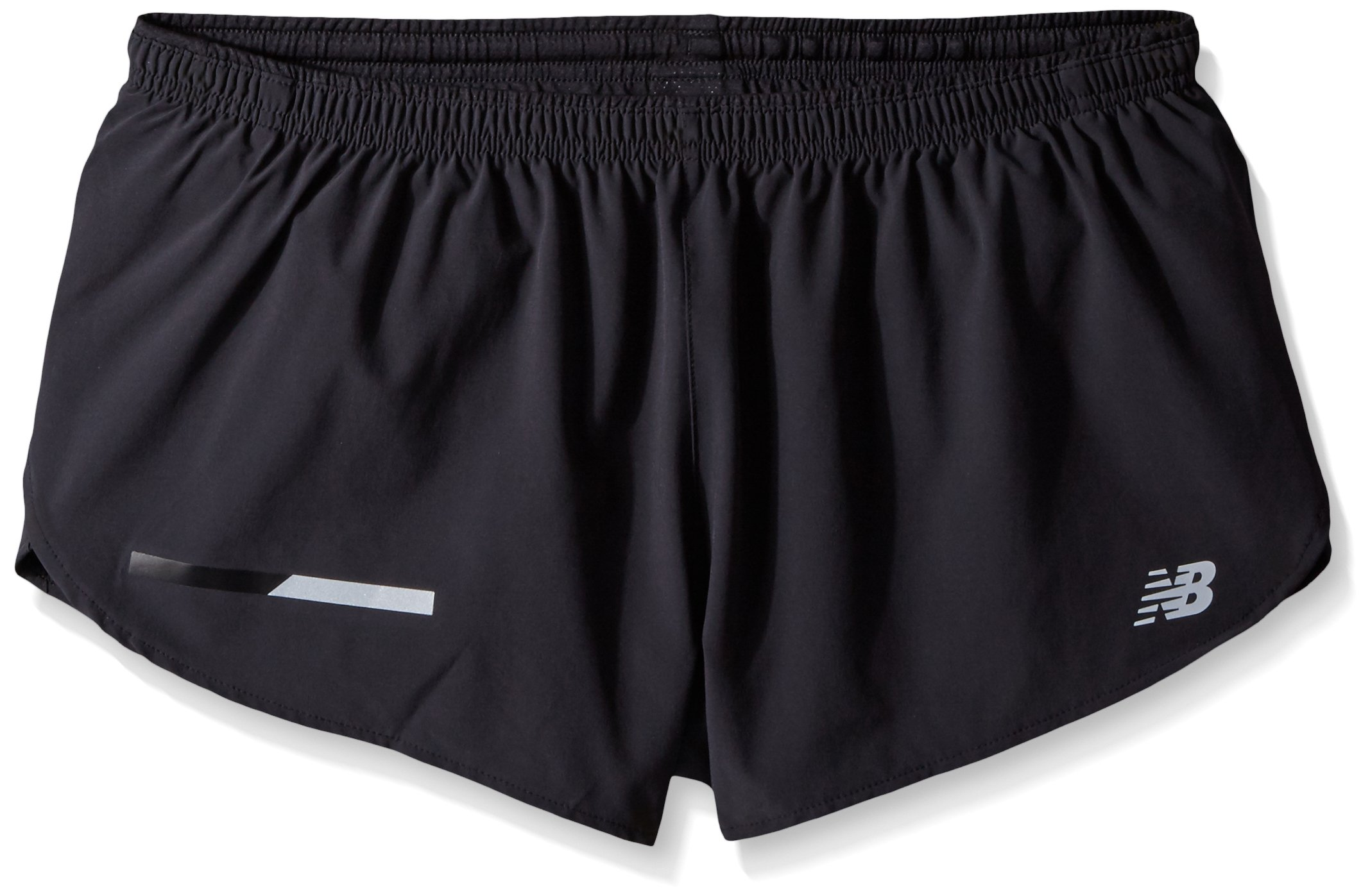 New Balance Impact Split Short 3in, Black, Small by New Balance (Image #1)