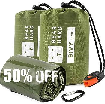 2-Pack Bearhard Emergency Thermal Bivvy Sack