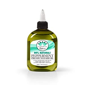 Ethereal Nature 99% Natural Oil Peppermint 7.78 fl oz, green