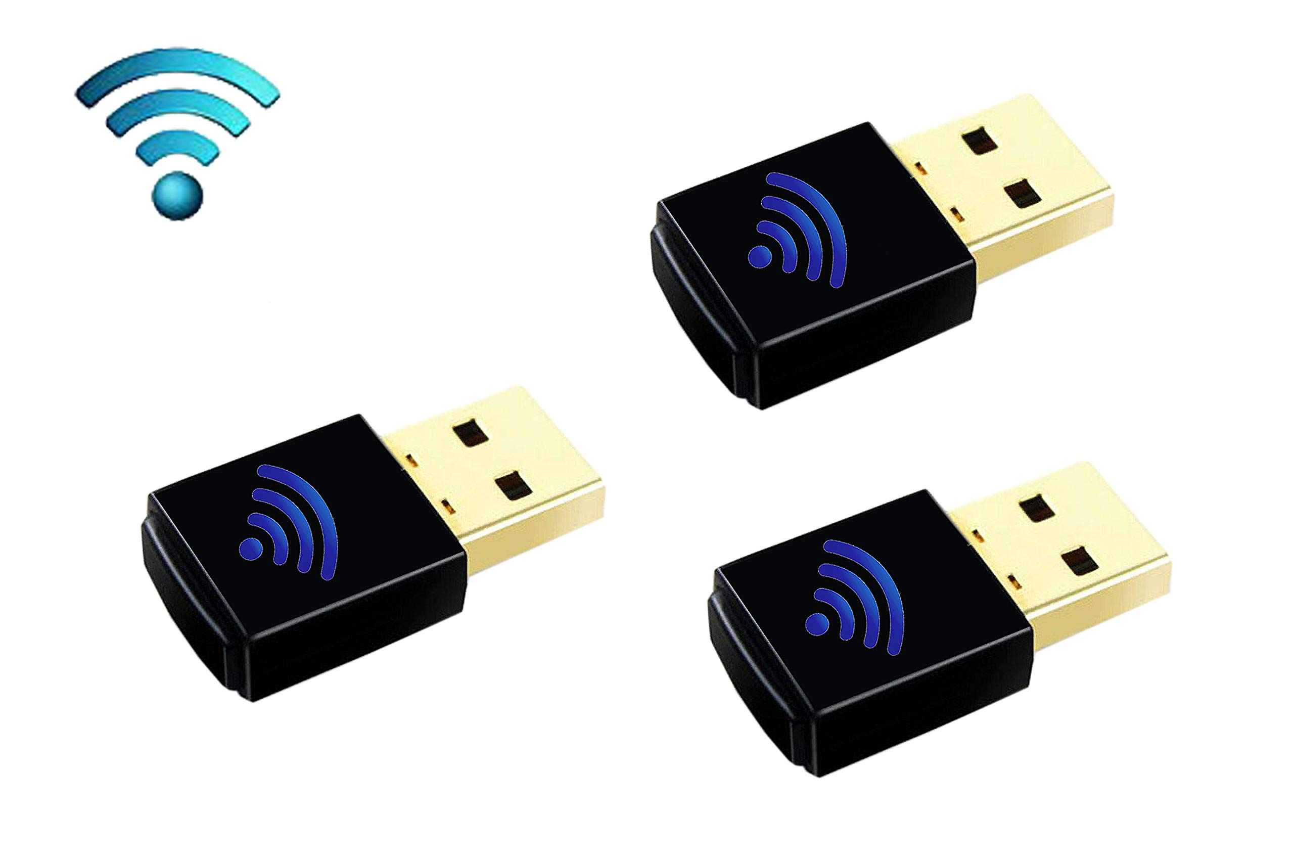 3PACK Supports Y/L WF40 Wi-Fi USB Dongle and IP Phones T27G,T29G,T46G,T48G,T46S,T48S,T52S,T54S, by Nuu You