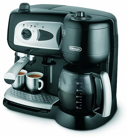 DeLonghi Combination Pumped Filter Coffee Maker - Máquina de ...
