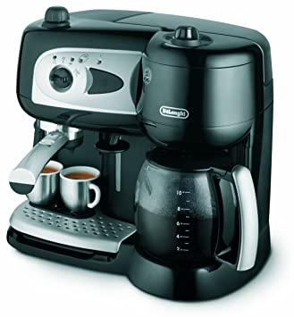 DeLonghi Combination Pumped Filter Coffee Maker - Máquina de café: Amazon.es: Hogar