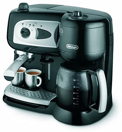 DeLonghi Combination Pumped Filter Coffee Maker - Máquina de café