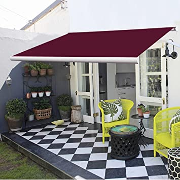 Greenbay 3m Electric Awning UV Resistant Outdoor Patio Shade