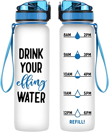 Great New Product! - A water bottle accessory Water Intake Tracker GREEN