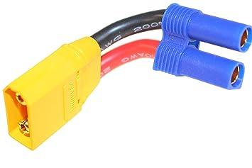 EC5 hembra a xt90 Conector Adaptador Cable Cable de carga ...
