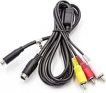 Vhbw Audio Video Av Composite Kabel Passend Für Sony Elektronik