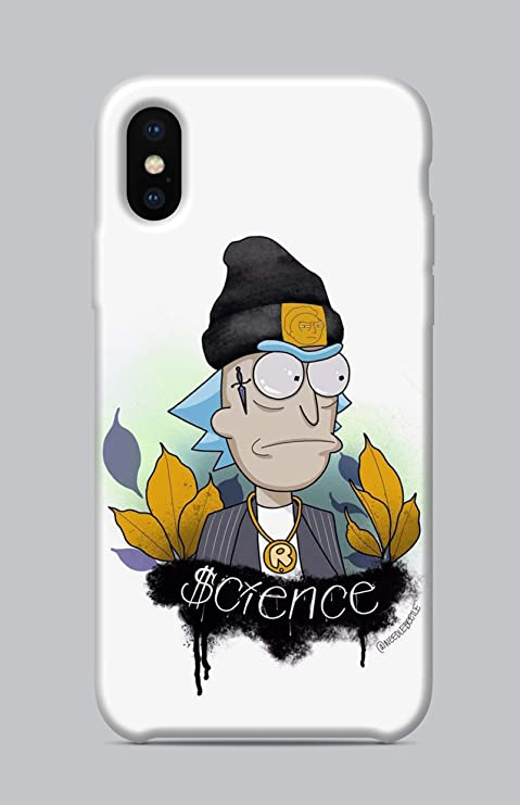 coque iphone xs rick et morty