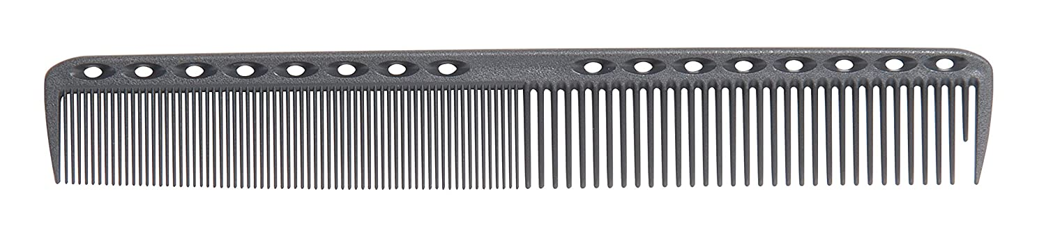 1907 Original Series 7.25'' Cutting Comb #NBC001S, Textured vents, increased airflow, lightweight, chemical resistant, heat resistant, steel pin, maintain moisture, keeps hair smooth