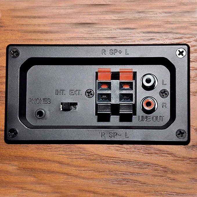 Lauson Tocadiscos Bluetooth, Vintage de Madera: Amazon.es: Electrónica