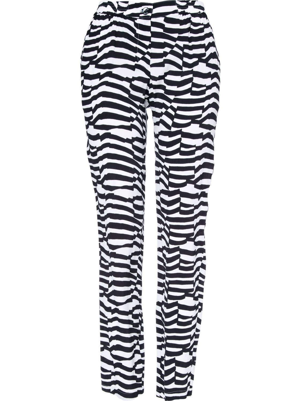 Brand Size 44 ARMANI JEANS Women's A5P11UM5V Multicolor Viscose Pants