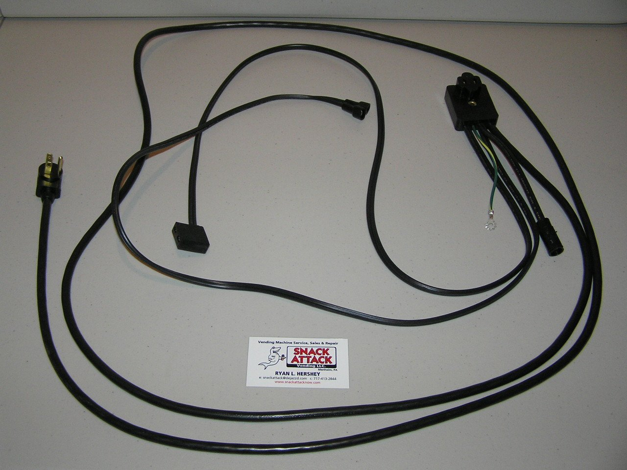 Dixie Narco 368, 440, 501T, 501E, 600E SODA Vending Machine Main Power Harness /!