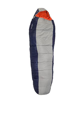 Columbus Saco de Dormir Mummy 300 Azul/Gris Única