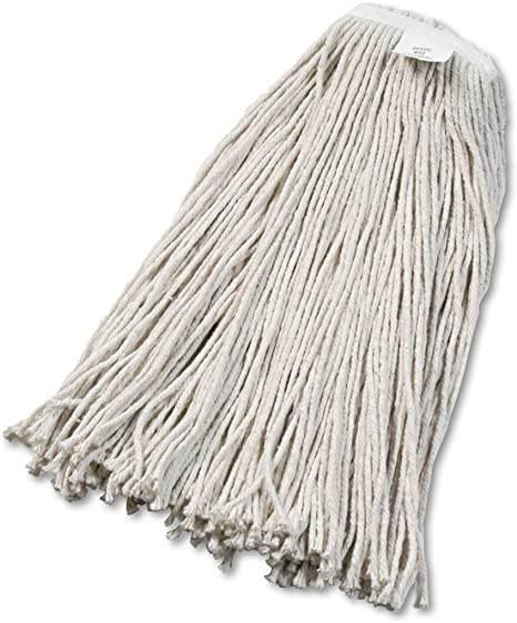 Boardwalk 2032cea Cut End Wet Mop Head Cotton No 32 White Mop Replacement Heads Office Products