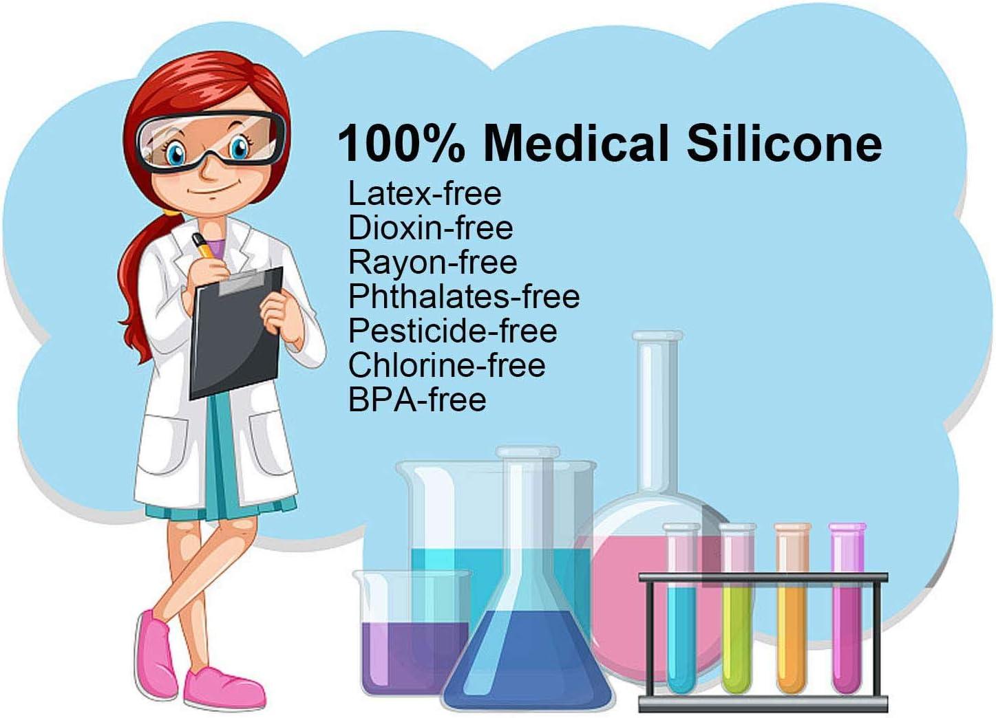 Copa menstrual, silicona de grado médico flexible y flexible ...