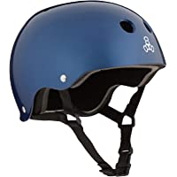 Triple 8 Brainsaver Glossy Helmet with Standard Liner- Casco