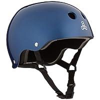 Triple 8 Brainsaver Glossy Helmet with Standard Liner- Casco
